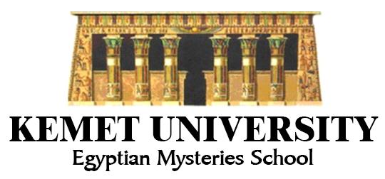 Kemet Unoiversity Egyptian Mysteries logo